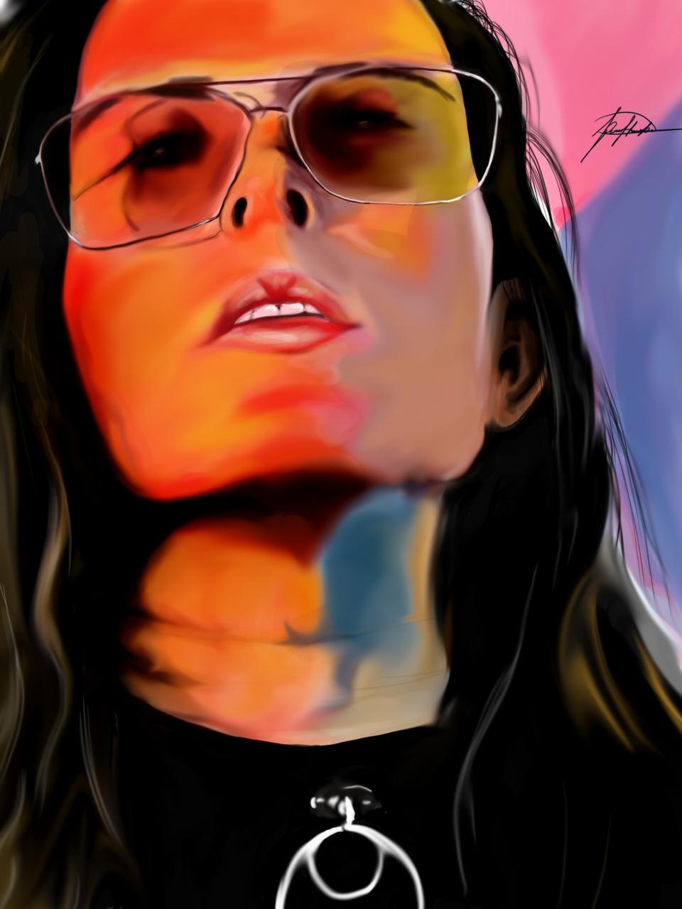 retrato Illust of Daniel rostro medibangpaint portrait