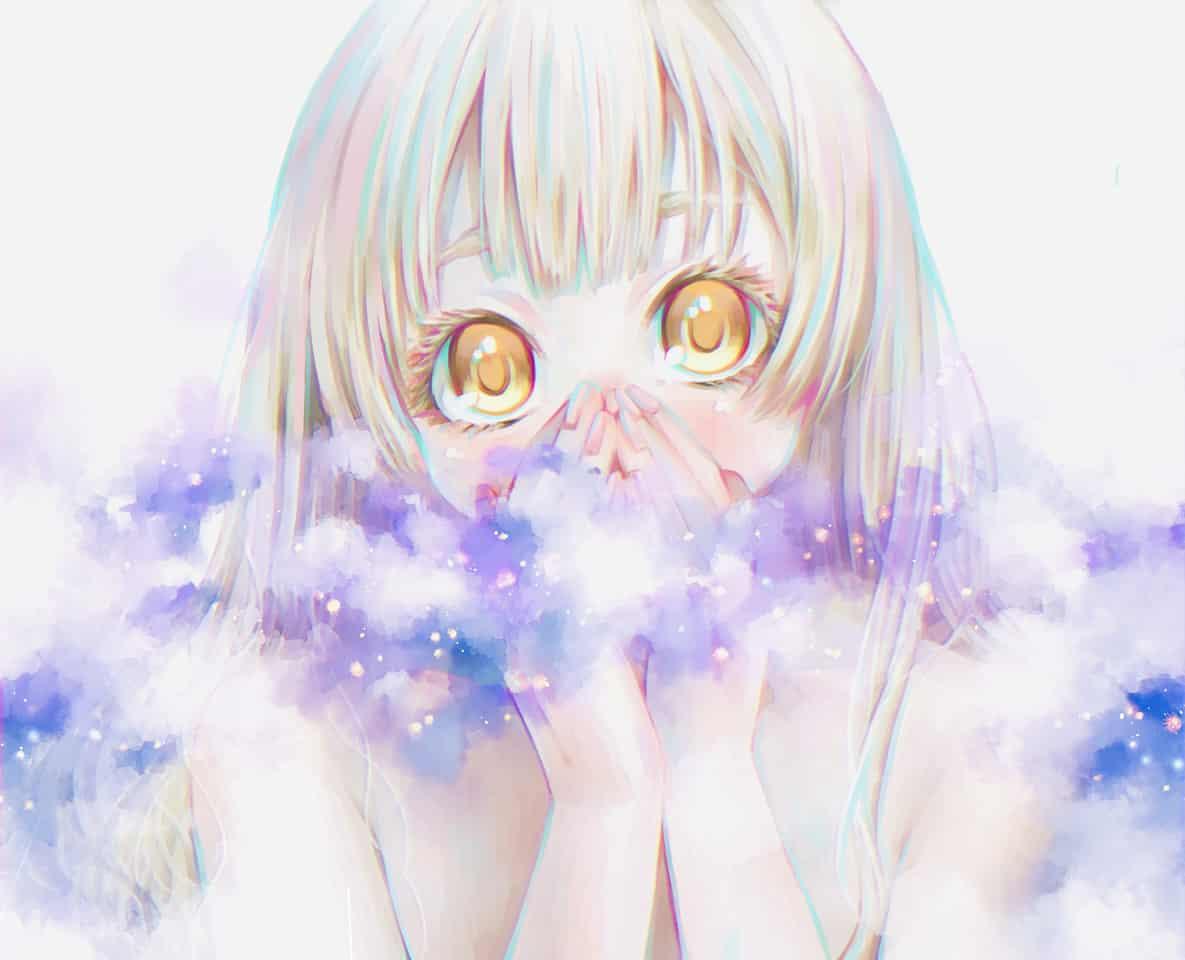 星降る夜に Illust of ひろみ star girl original