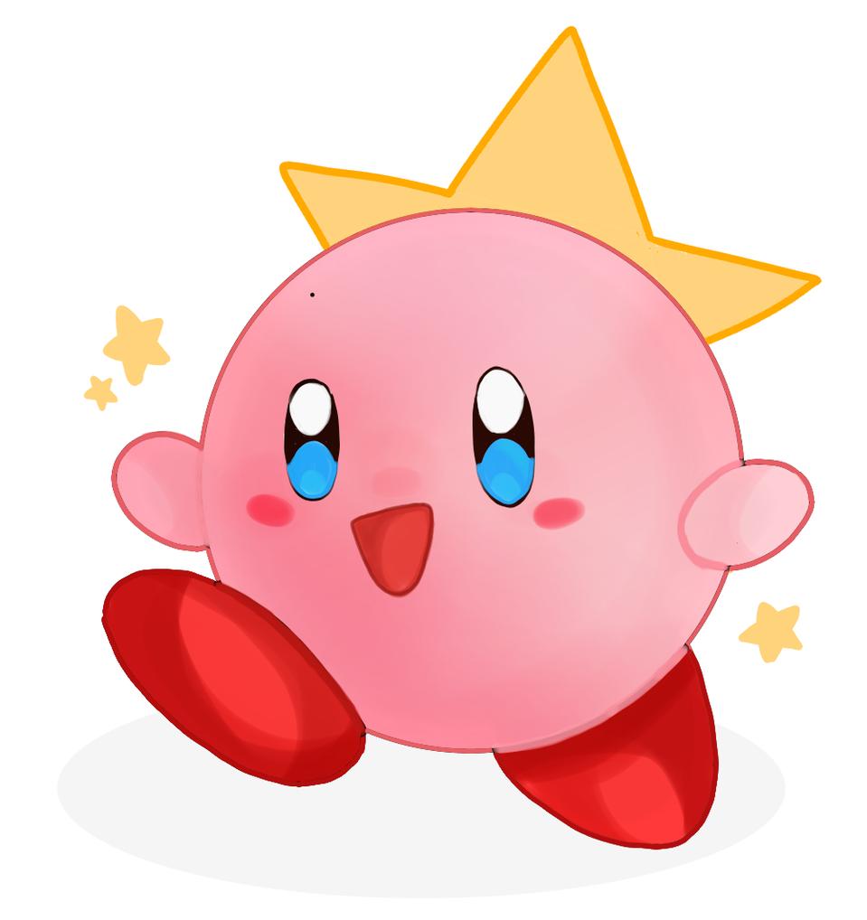 Kirby 🌠🌟 Illust of Peachyloaf medibangpaint Kirby Kirby'sDreamLand