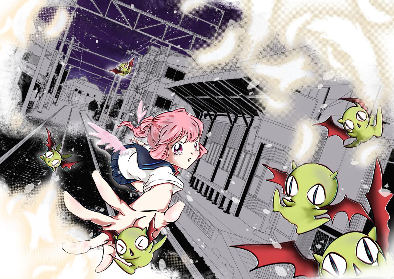Midnight tag game Illust of WaWa Background_Image_Contest BackgroundImageContest_Using_Division