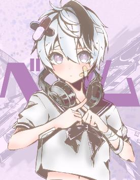 ベノム Illust of メル medibangpaint character ボカロ曲 girl sailor_uniform おんなのこ cute illustration かいりきベア pastel