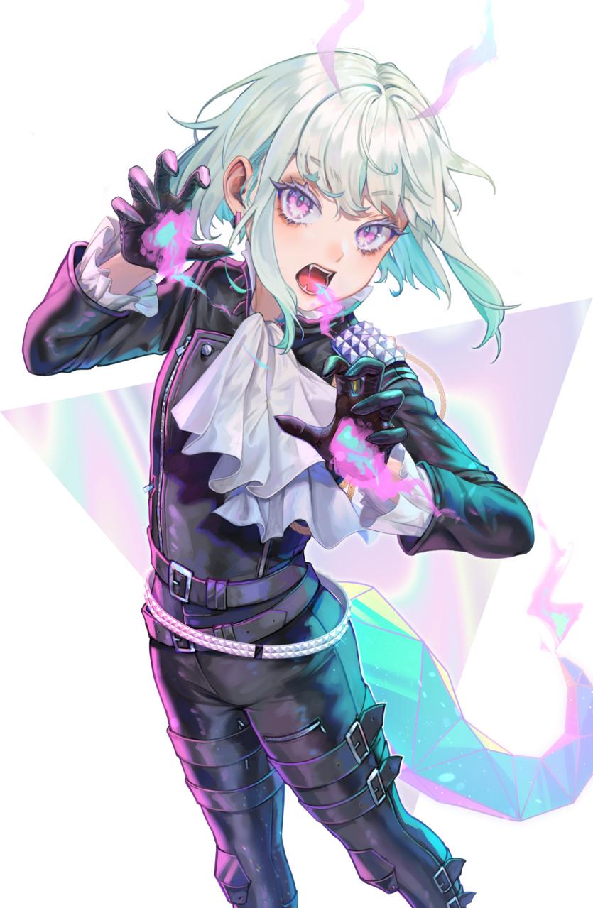 LIO Illust of Tamaki Promare fanart LioFotia boy