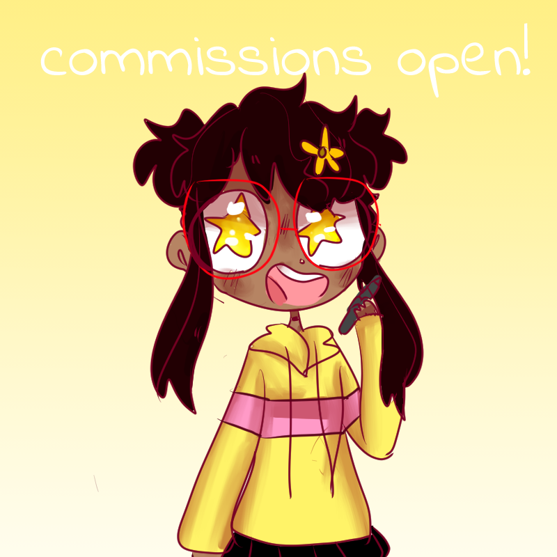 commissions open *instagram only Illust of boiledsunflowers anime CLIPSTUDIOPAINT commissionsopen commission medibangpaint art characterdesign oc