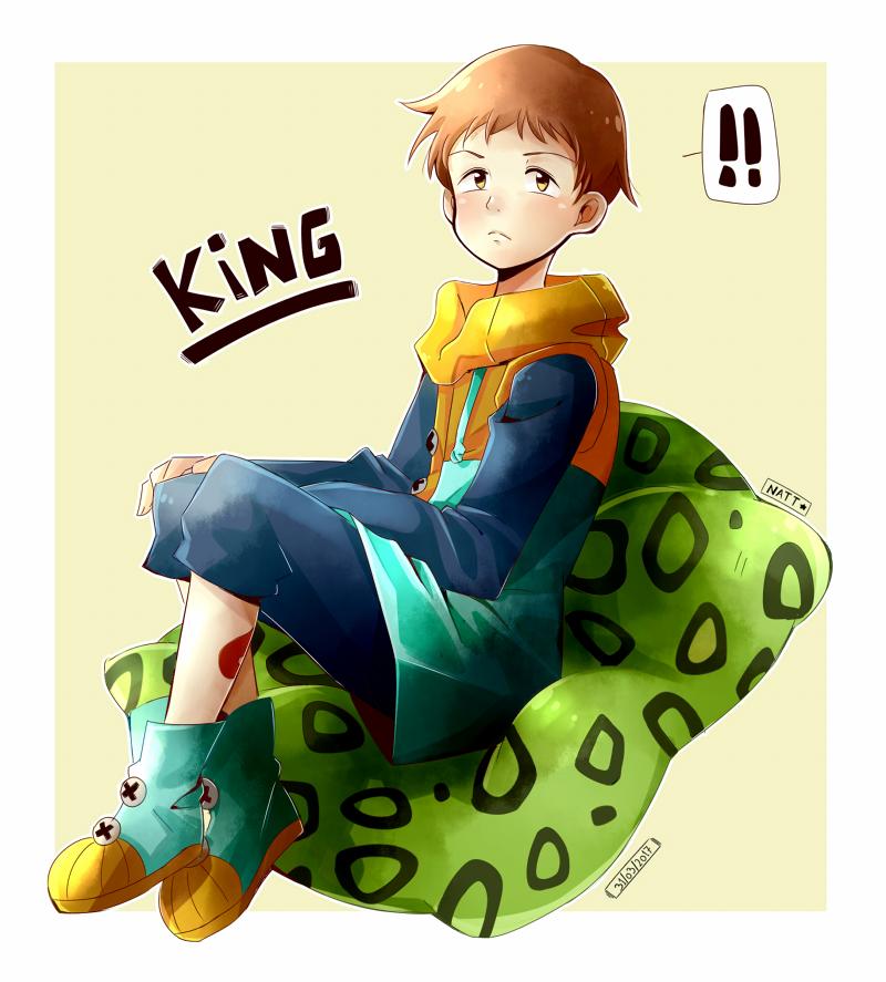 King (Fanart) Illust of Natt digital fanart King boy Seven_Deadly_Sins brownhair キング(七つの大罪)