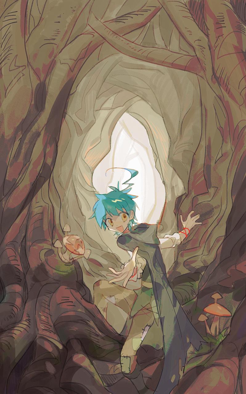 「こっちへ来い!」 Illust of 香槟树 January2021_Contest:OC 原创角色 original oc