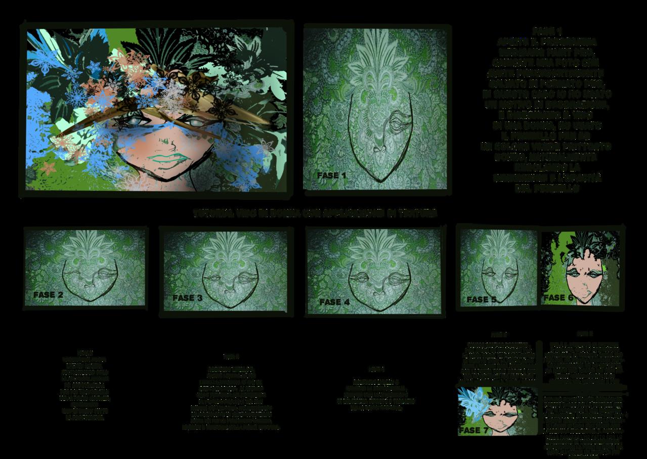 L'ombra del passato Illust of Grandicelli Susanna tutorial