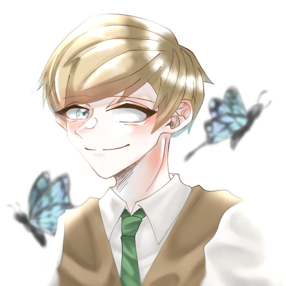 🦋 Illust of 猫丸 illustration 実況者 エーミール butterfly 版権 ○○の主役は我々だ!