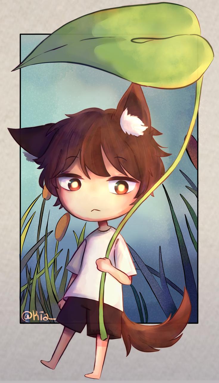 = Leaf Boi 🍃 (◉◡◉) =