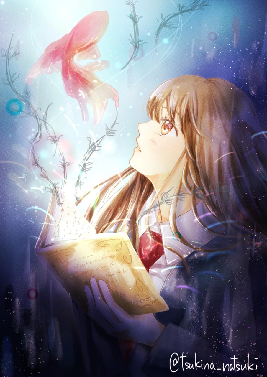物語世界 Illust of 月名なつき original 高校生 girl