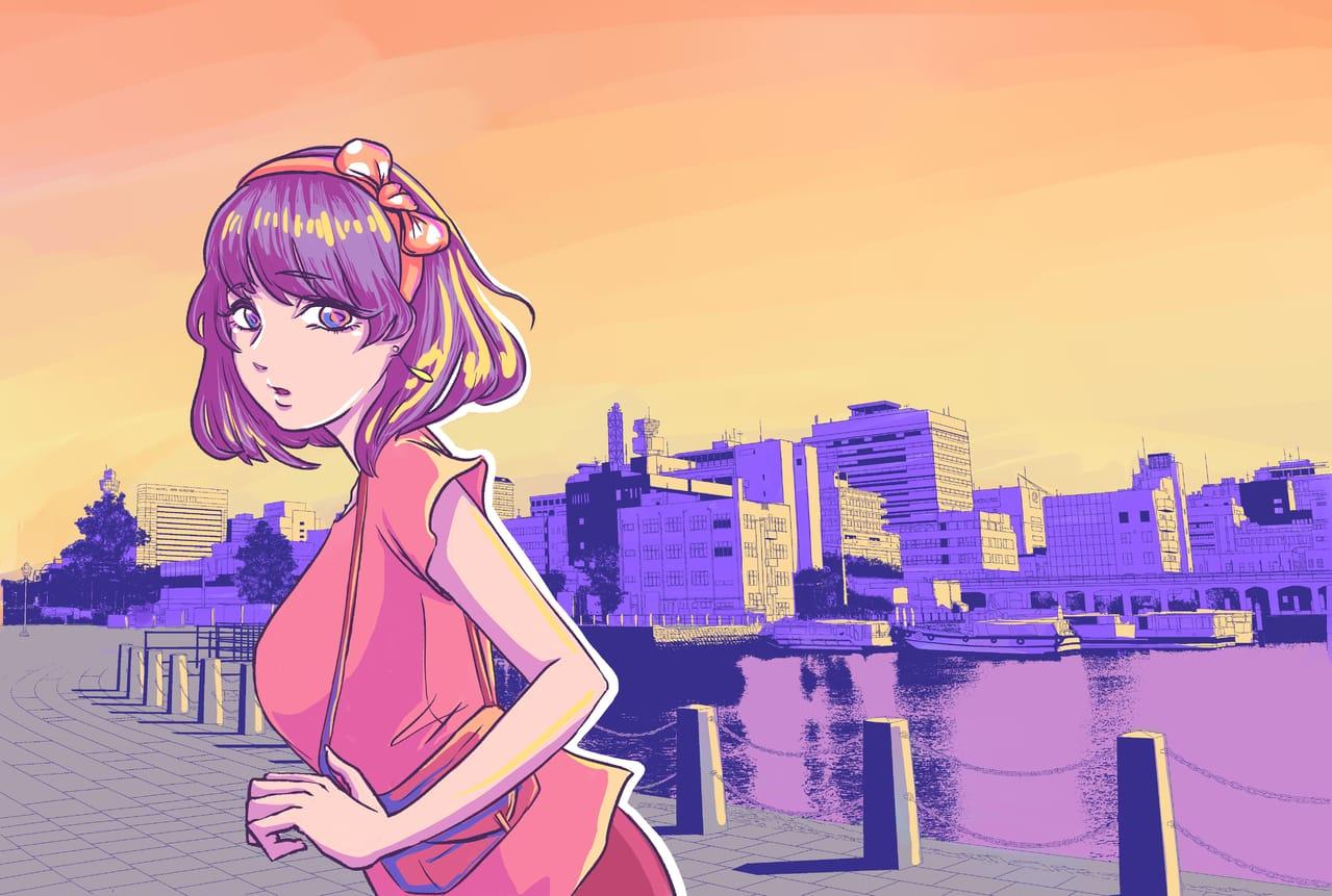 DATE Illust of KZR Background_Image_Contest BackgroundImageContest_Using_Division