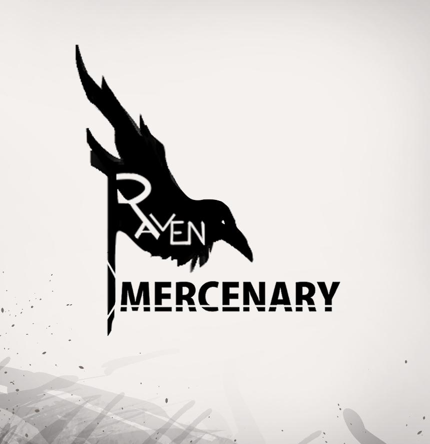 RAVEN MERCENARY Illust of 七匕 MySecretSocietyContest RAVEN oc 渡鴉僱傭兵 cyberpunk MERCENARY 終末之晟