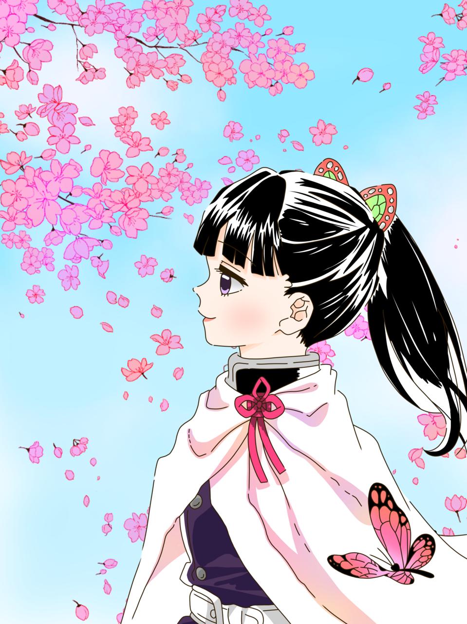 栗花落カナヲ(ゆすらうめ様) Illust of 桜 宮美 桜宮美 KimetsunoYaiba ゆすらうめ TsuyuriKanao