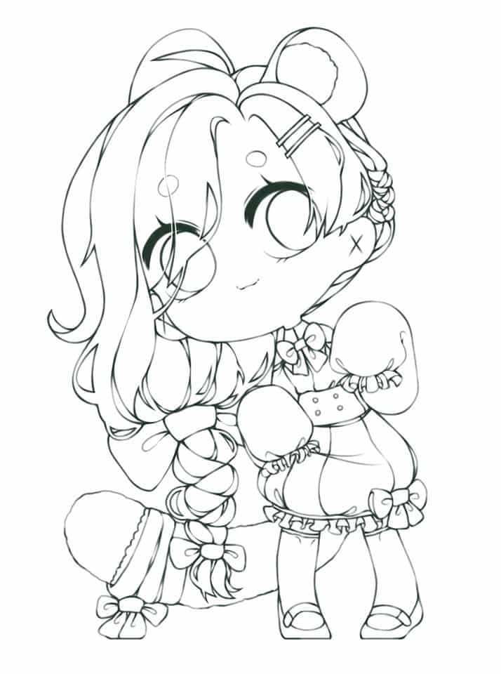 If you want, you can color it Illust of Tam Tucker ARTstreet_Rank girl character