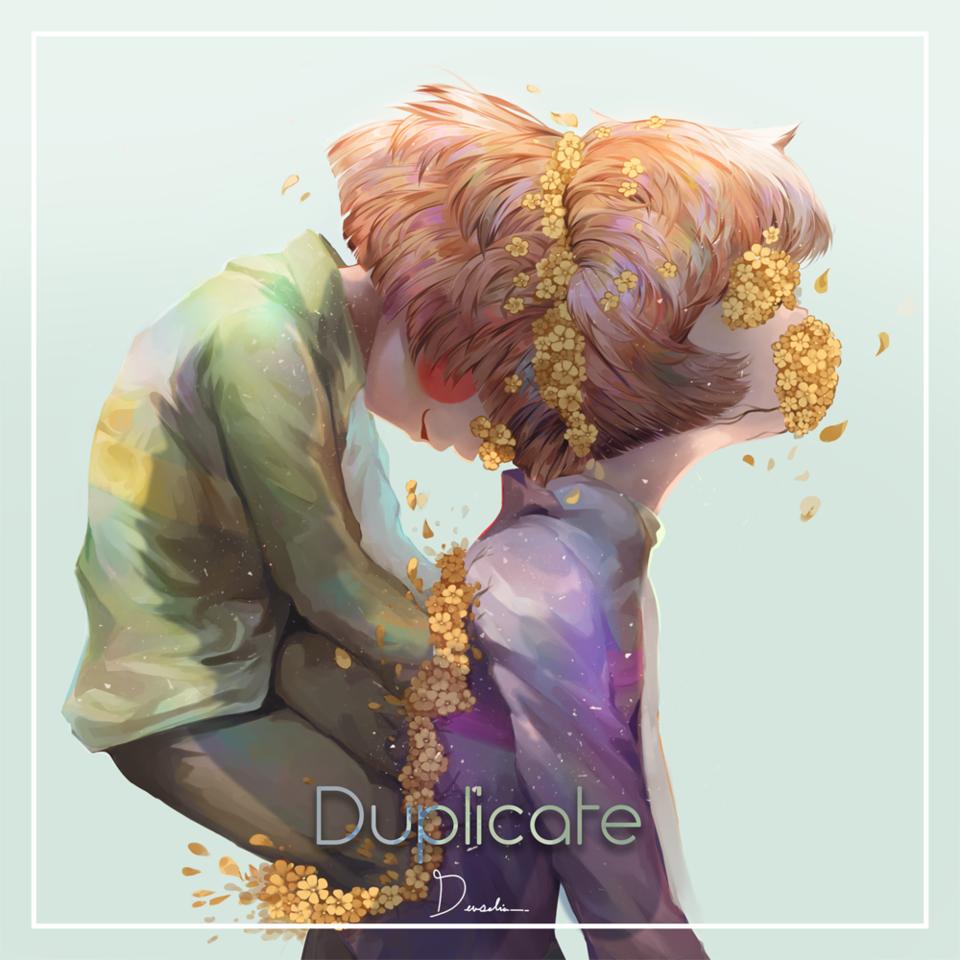 Duplicate Illust of Devselia undertale fanart Buttercup Frisk illustration Flowergore Chara