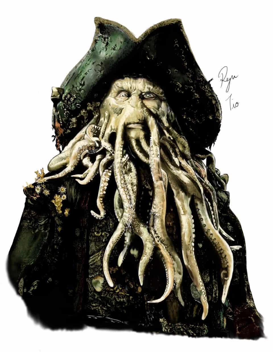 Davy Jones Illust of チオ 海賊 illustration pirates