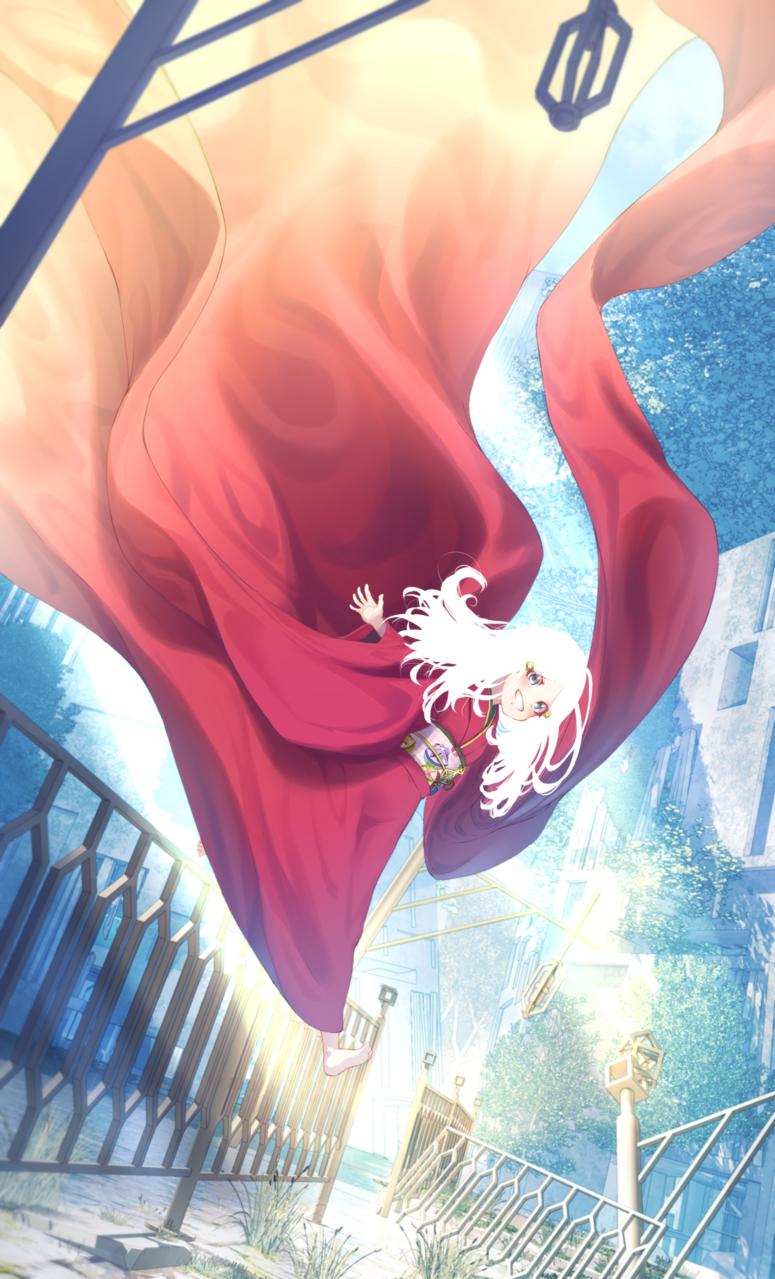 ジンルイシュウリョウの後日談 Illust of 赤薄 紅 Kyoto_Award2020_illustration kimono background