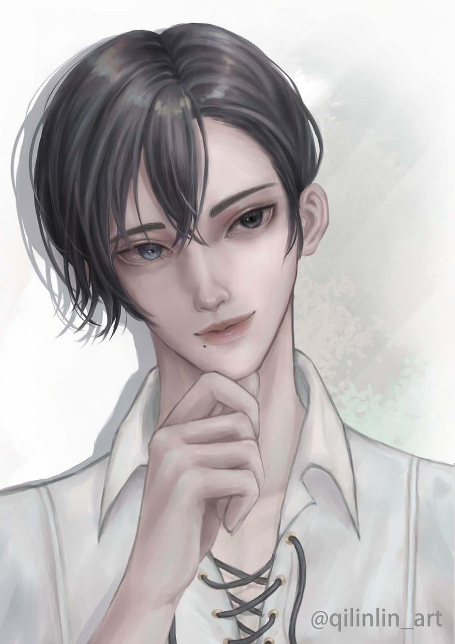 艾德里安_「期盼」 Illust of 祁凜Qilin 艾德里安 fanart 少女的王座
