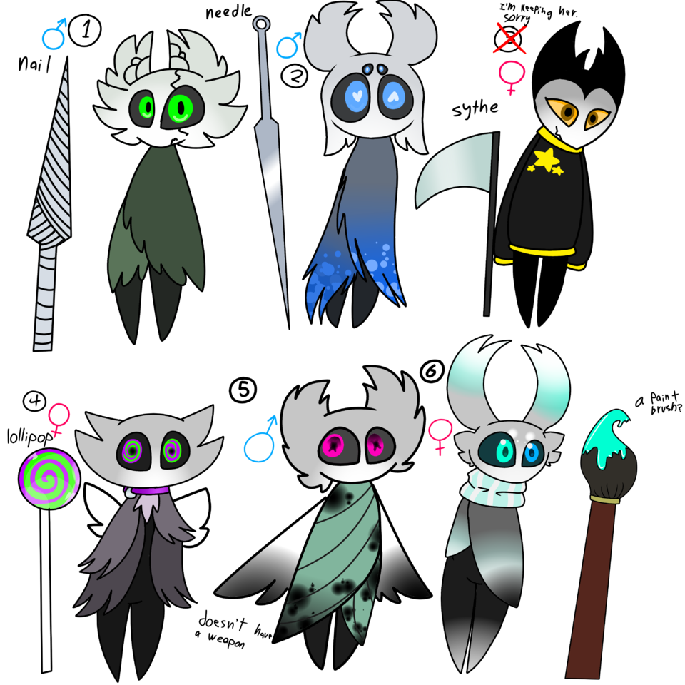 hollow knight adopts (closed) Illust of ❄Ash❄ medibangpaint cute Hollow oc knight Hollow_Knight adopt