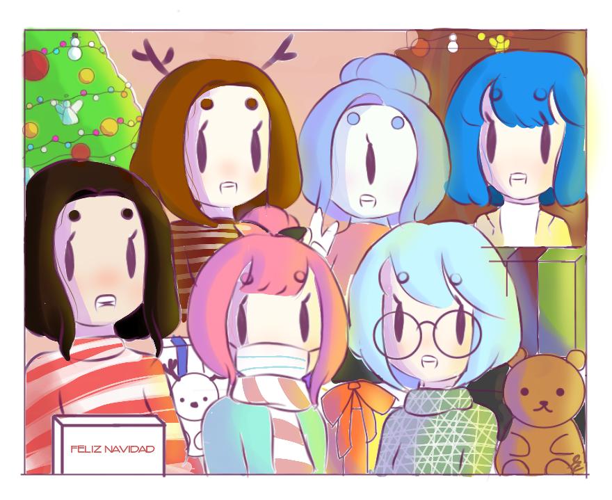 ¡Feliz navidad a todos!🎄💕