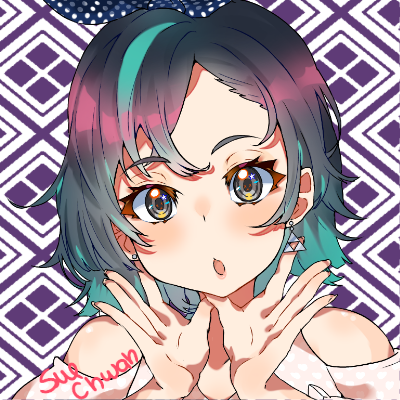 📸New Profile Pic  Illust of Sue-chwan medibangpaint cute girl illustration kawaii