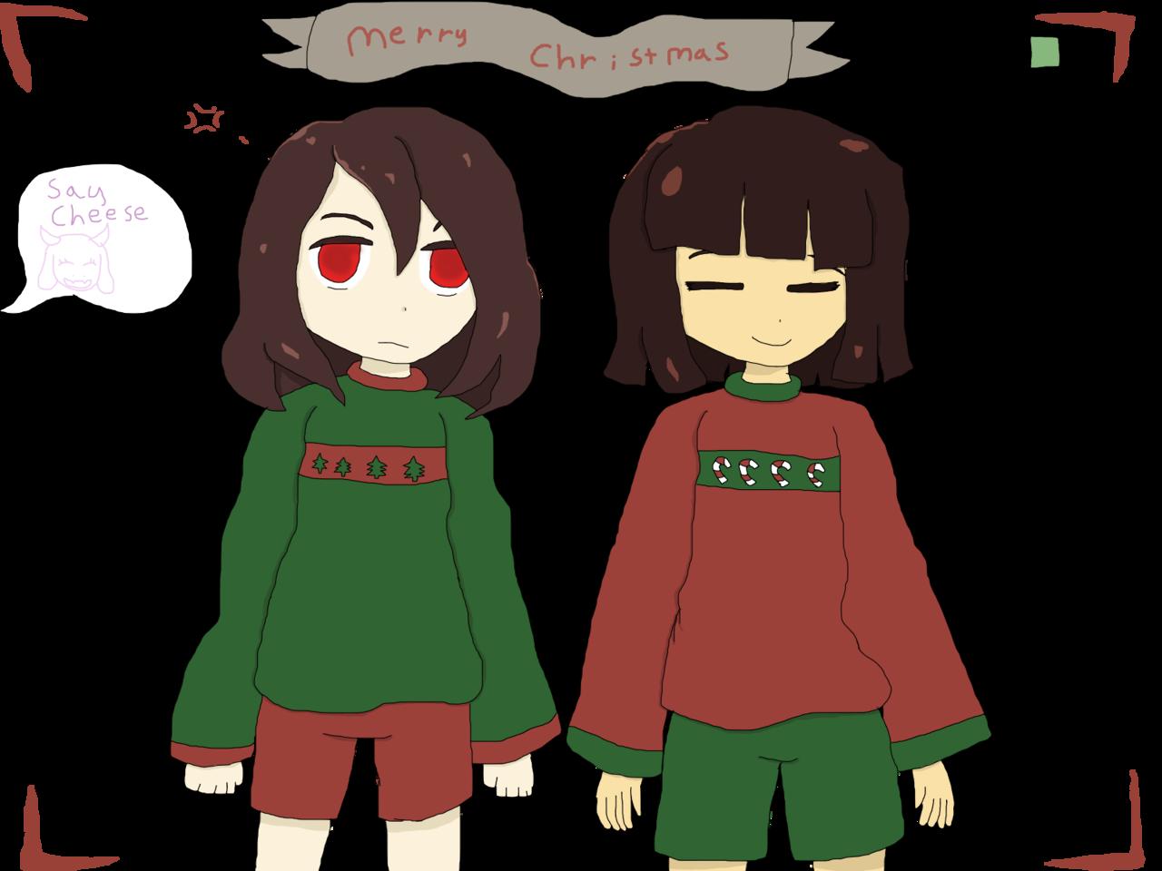 Undertale Christmas.Undertale Christmas 2strawberry4you Illustrations Art