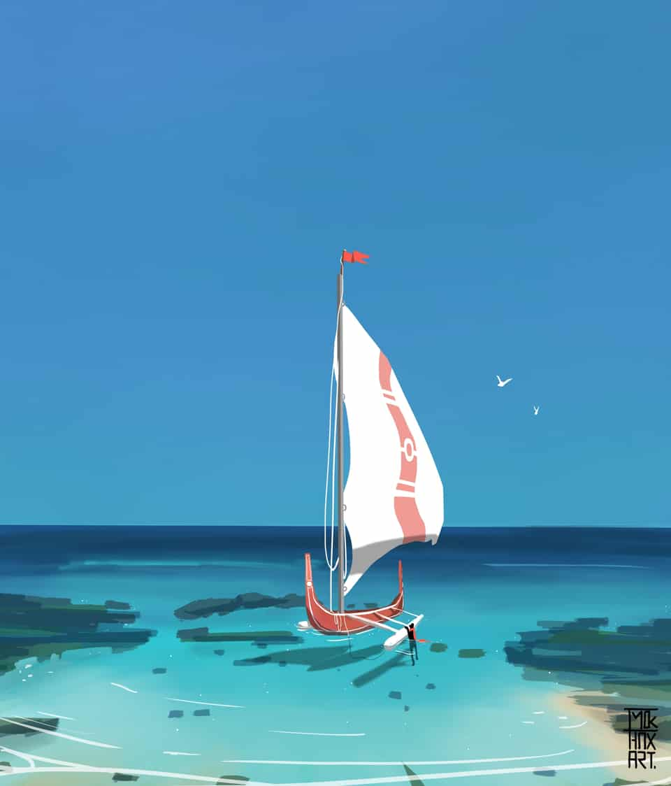 To Adventure we set Sail