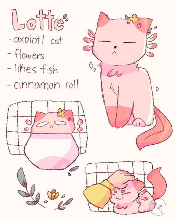 adopt from bee-cat Illust of MochiiNiko Lmao cat aesthetic adopt