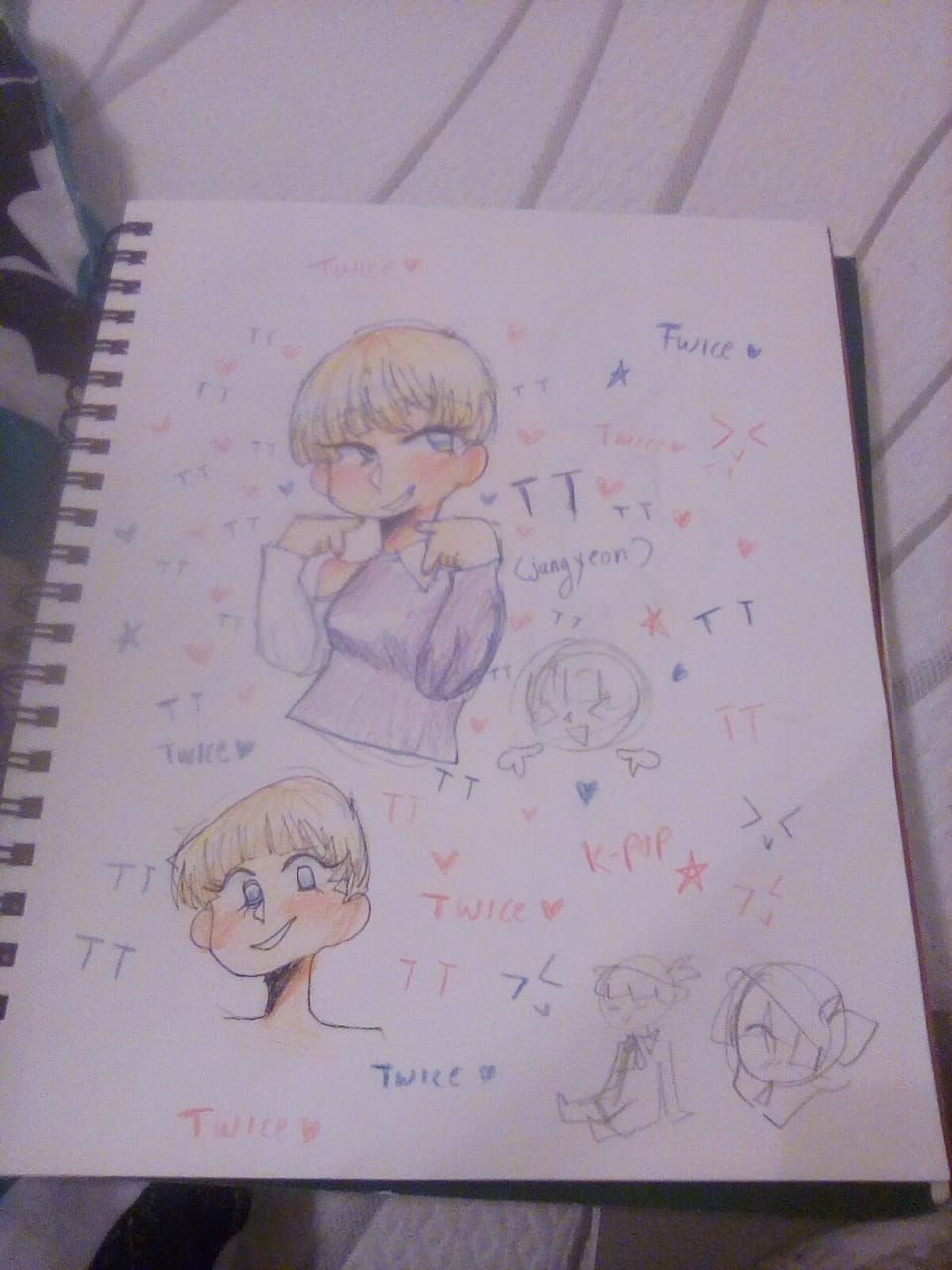 I'm like TT (one hour challenge) Illust of ali-chi | Alus uwu (Fundy Mode) K-pop real onehourchallenge TT TWICE jungyeon