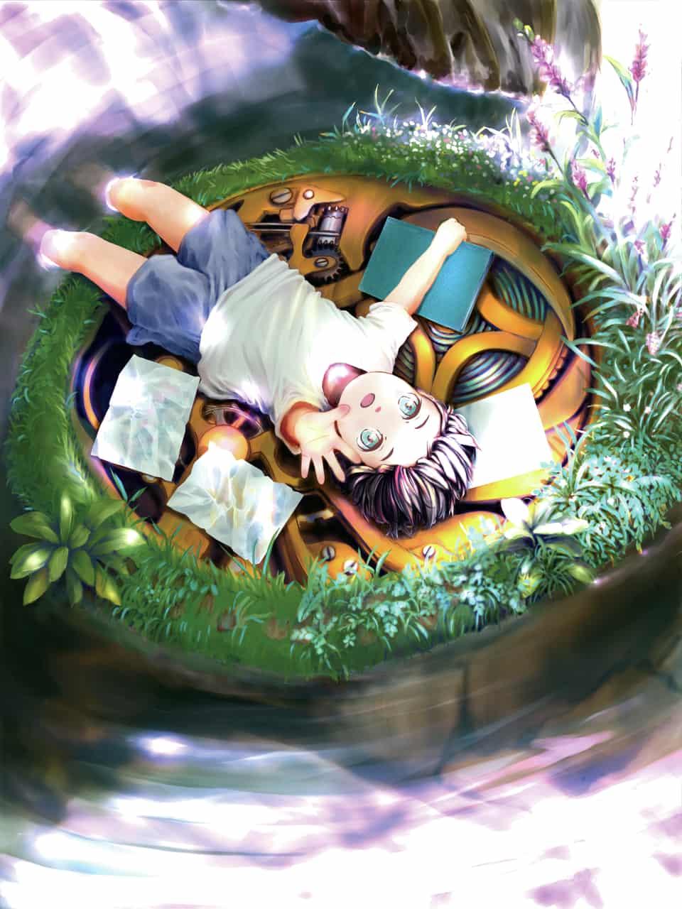 The Clock Boy Illust of Saya GOMABOOKS_Contest