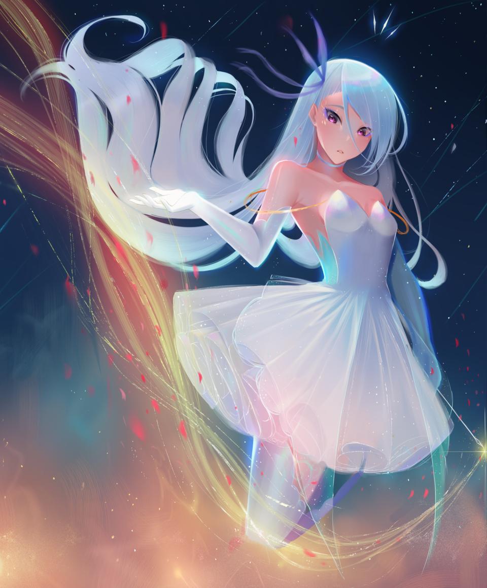 Name of the Light! Illust of Kazuro07 fantasy February2021_Fantasy magical mage magic magicalgirl