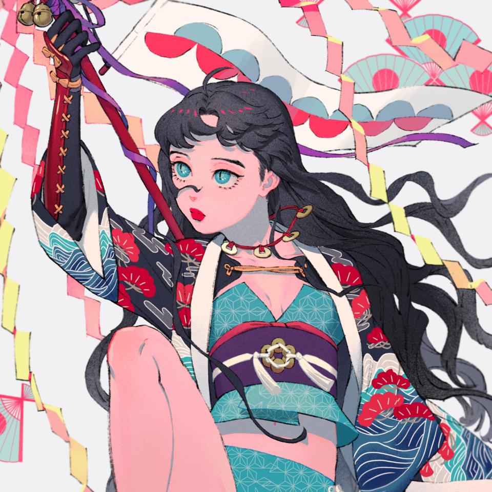 祭り Illust of memenchi girl original