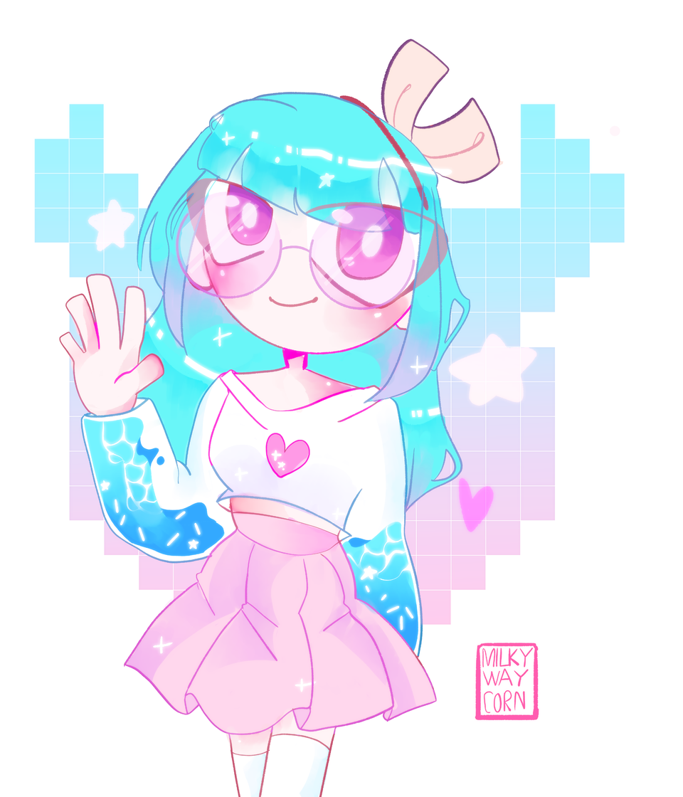 Request from pErSon Illust of ?MilkyWayCorn¿ medibangpaint