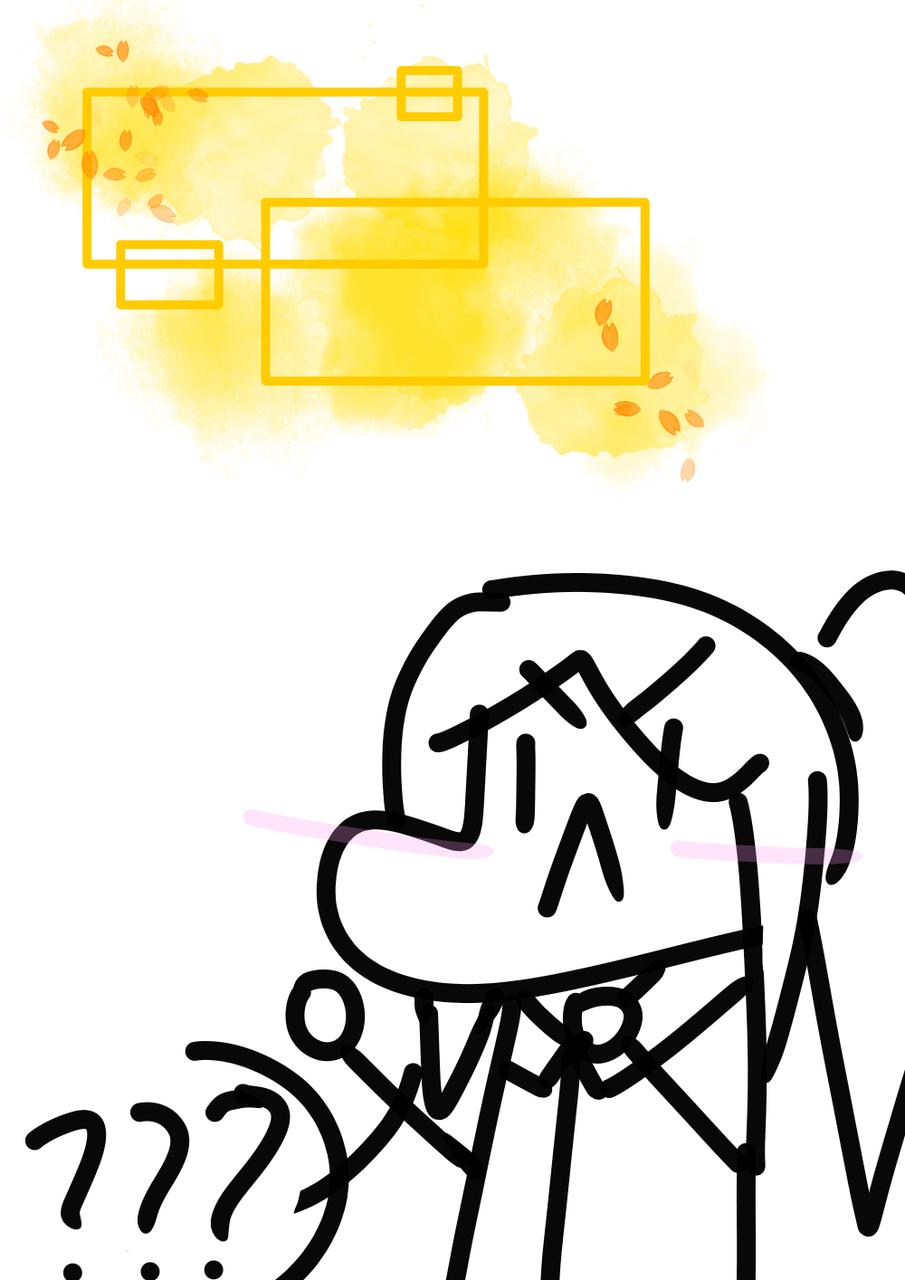 最近这些东西看得我头疼…… Illust of 柴米kaymi medibangpaint