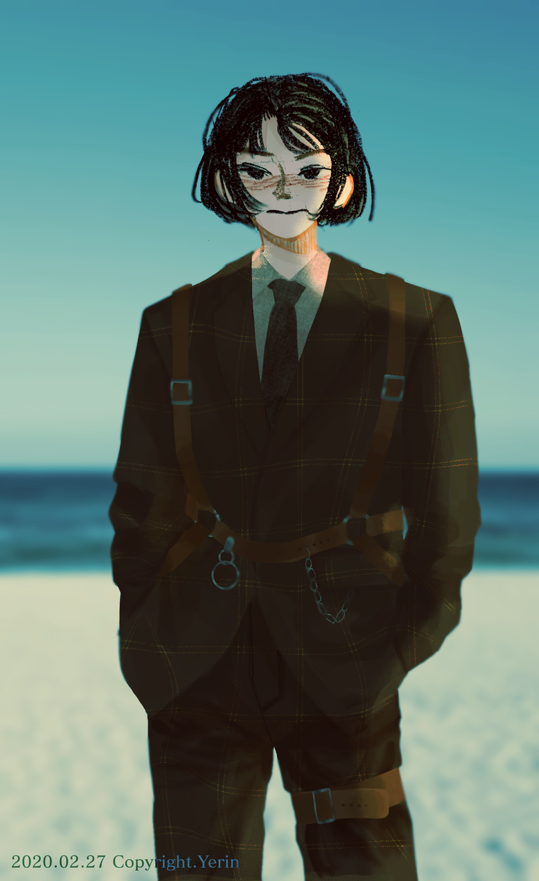 Illust of 하나두울 girl