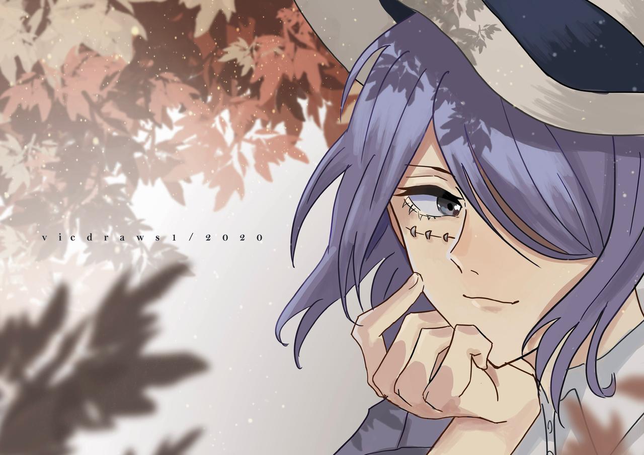 Flow Illust of Vicdraws1 medibangpaint art oc anime