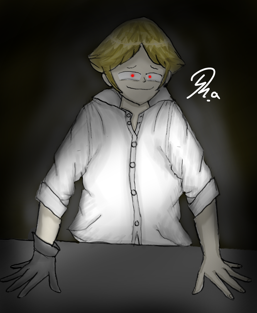 ❤️Psychopath🔪 Illust of Ph@nt0m MyIdealHusbando August2020_Contest:Horror MyIdealWaifu_MyIdealHusbandoContest medibangpaint Man Psychopath Creepy