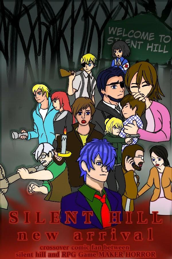 Fanmade : Silent hill New arrival Illust of RIELINEART horror medibangpaint Ib strangeman anime Silenthill RPGmaker crookedman emptyhead madfather boogieman