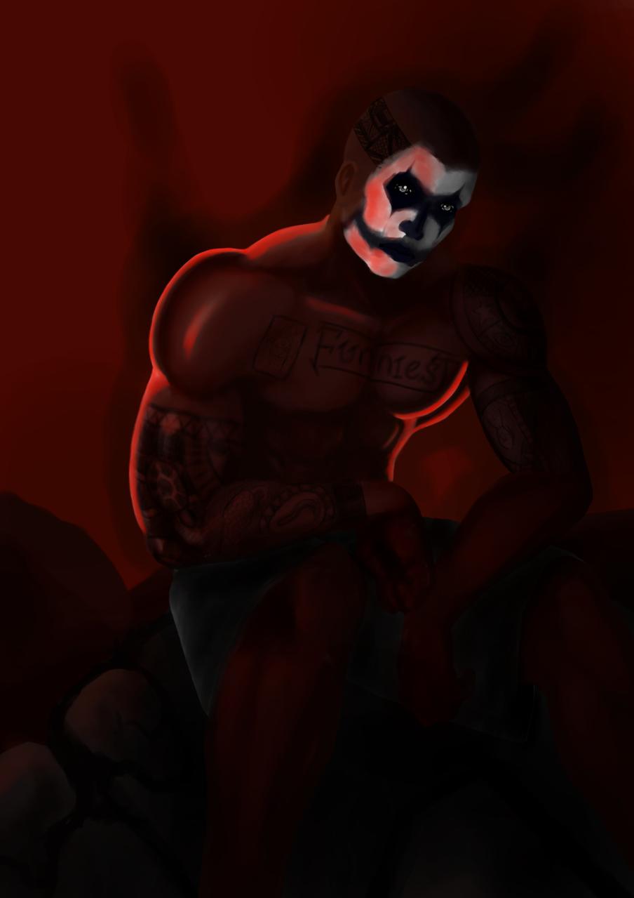 hell Illust of Robed Cobra horror August2020_Contest:Horror lucifer demon fear