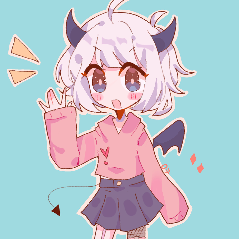 Dtiys with nati 😎 Illust of pErSon collab pink anime