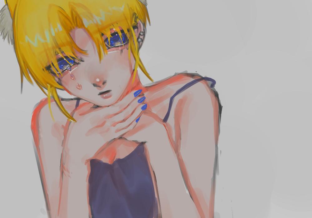 厚塗り的な Illust of OHTEAOH 小5 medibangpaint girl 厚塗り風 impasto 代理