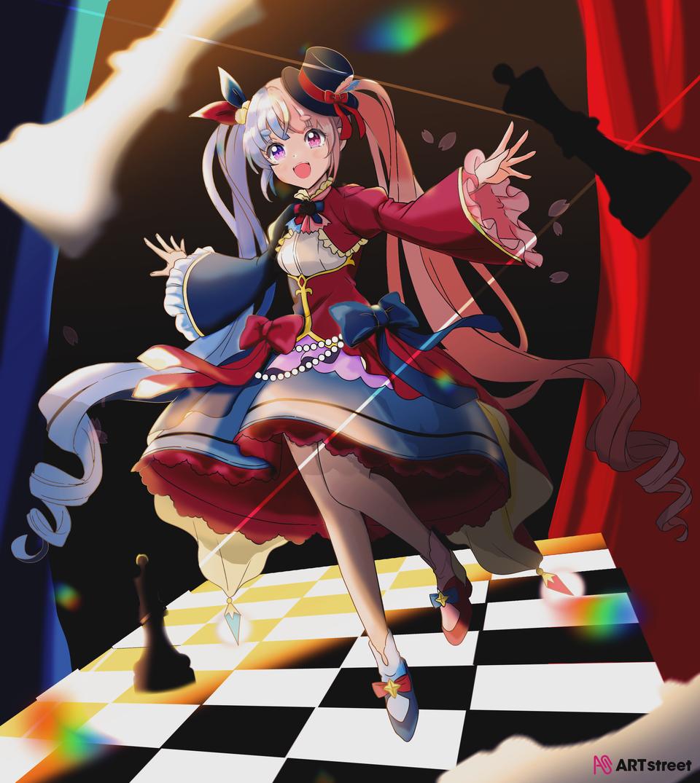 game Illust of 四眼✰金魚 ColoringContest game 黑白象棋 medibangpaint
