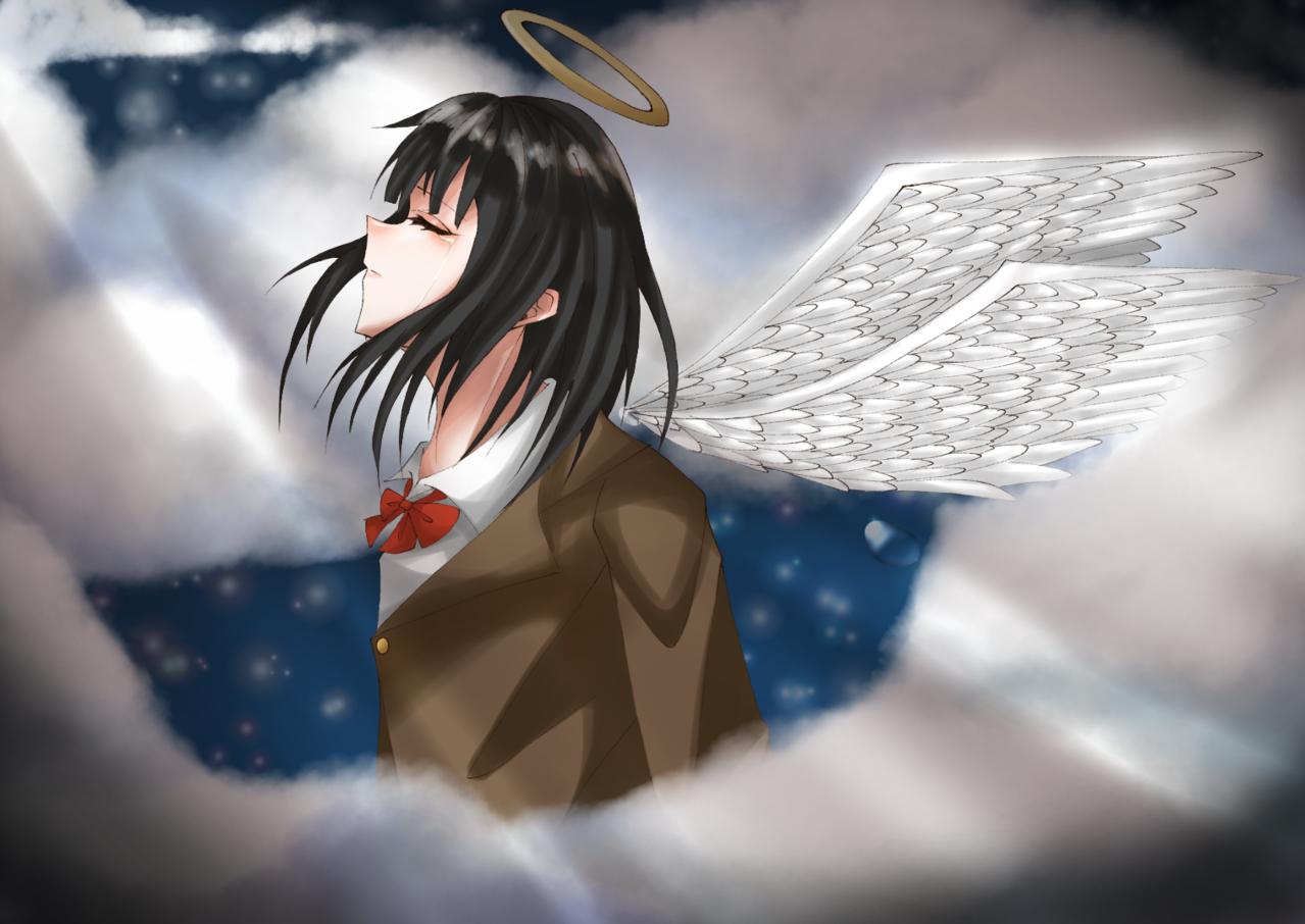 私は... Illust of 猫丸 wings girl medibangpaint