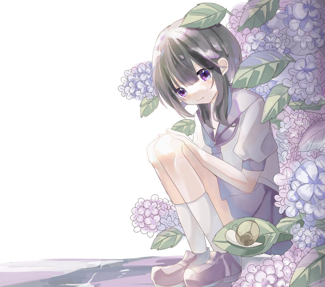 紫陽花 Illust of すい 梅雨 original hydrangea