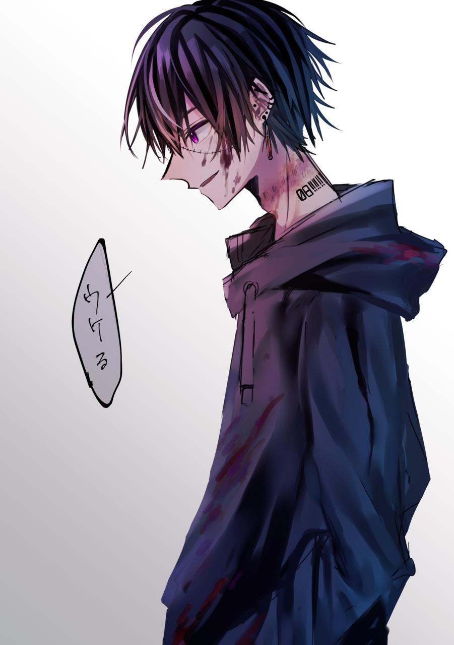愚者 Illust of 八瀬 boy illustration oc original