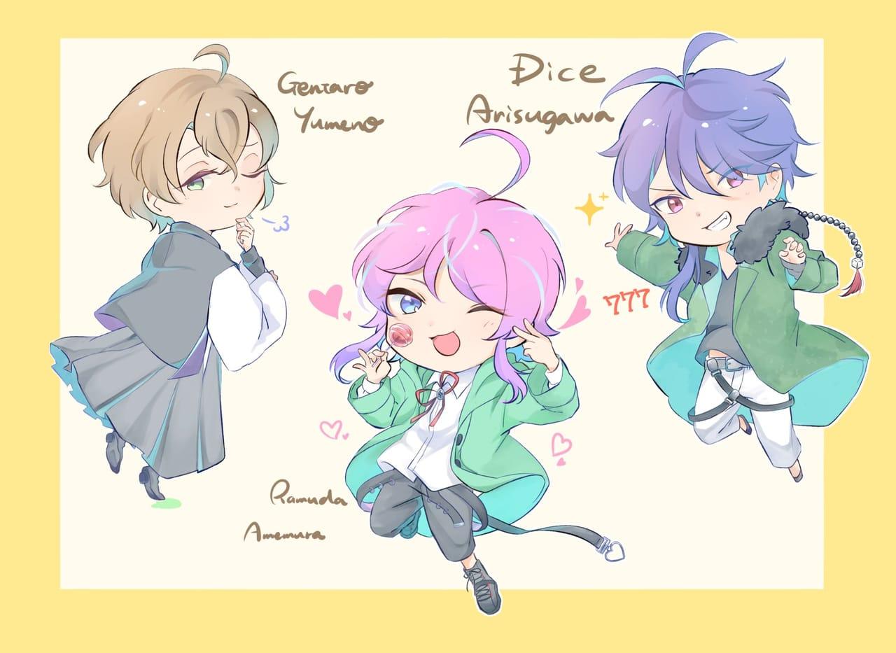ポッセまとめ② Illust of ironi GentaroYumeno HypnosisMic FlingPosse RamudaAmemura DiceArisugawa