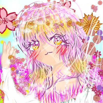 💖콘테스트 참가한다9~🌸 Illust of 🔥🎨💖9이샬꽃9 1040 🍮🌸 MasterpieceFanart April2021_Flower medibangpaint flower doodle 핱 반모 메디방 플라워냥이팀 이벤트