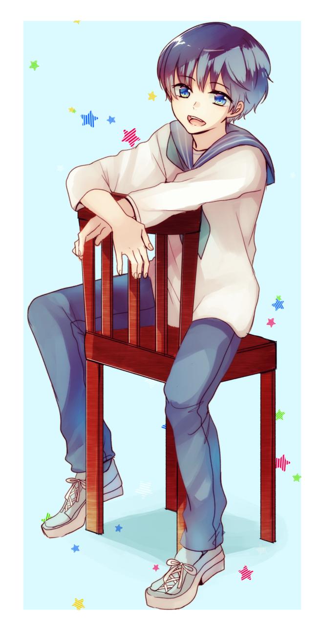 いす Illust of ぽち original boy