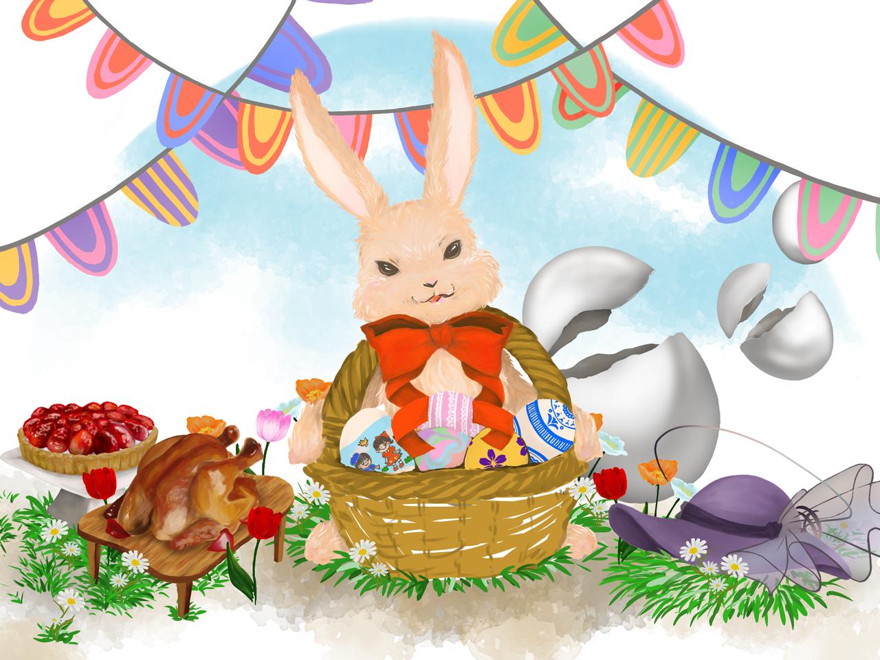 イースター祭 Illust of 生 March.2020Contest:Easter イースター