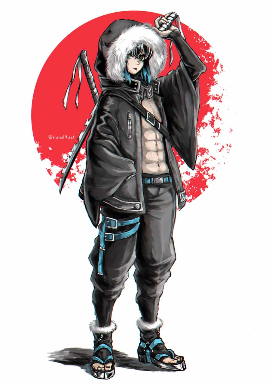 伊之助 Illust of のら DemonSlayerFanartContest KimetsunoYaiba HashibiraInosuke
