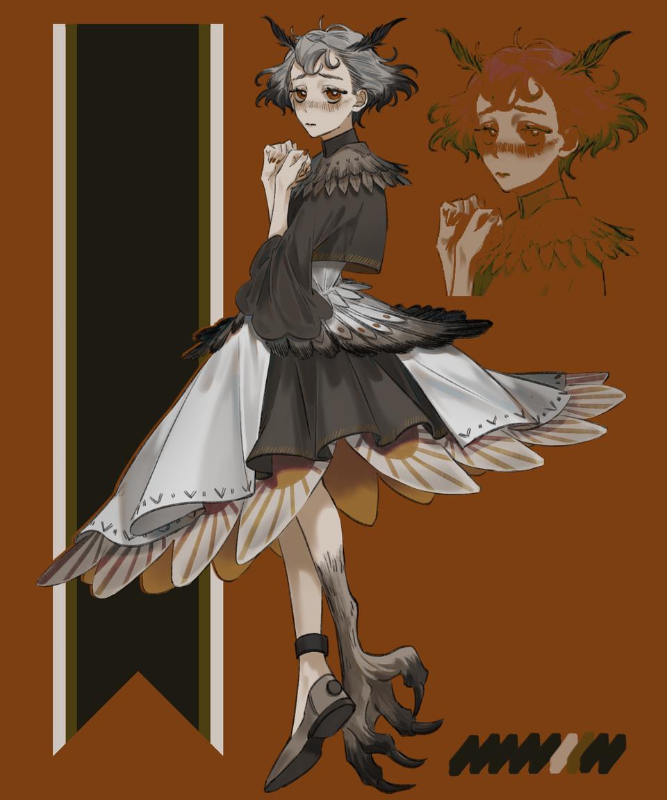 貓頭鷹 Illust of 吳胤華 January2021_Contest:OC